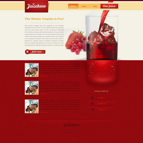 drinkingjuicewebtemplate