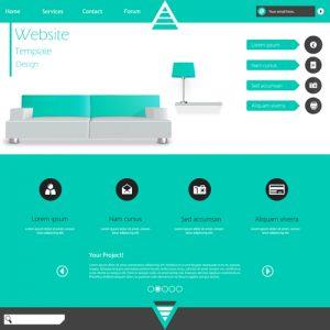 Minimalistic-business-website