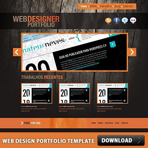 Web-Design-Portfolio-Template-L