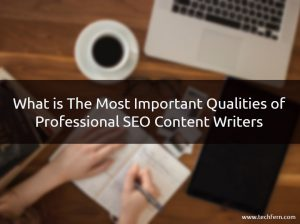Important Qualities of Professional SEO Content Writers