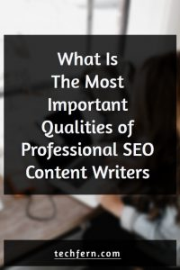What is The Most Important Qualities of Professional SEO Content Writers