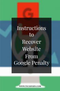 Website From Google Penalty