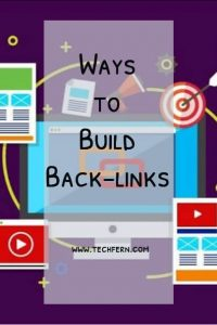 Ways to Build Back-links